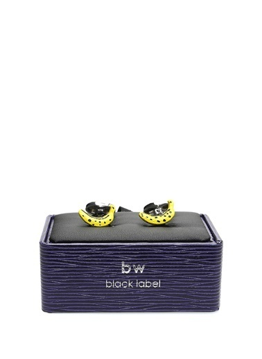 Babette Wasserman Kol Düğmesi Sarı